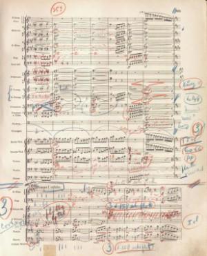 Partituur Mahler